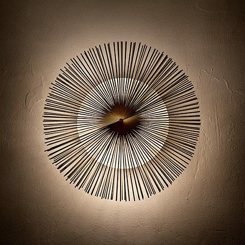 Riccardo Blumer - Sunburst wall light