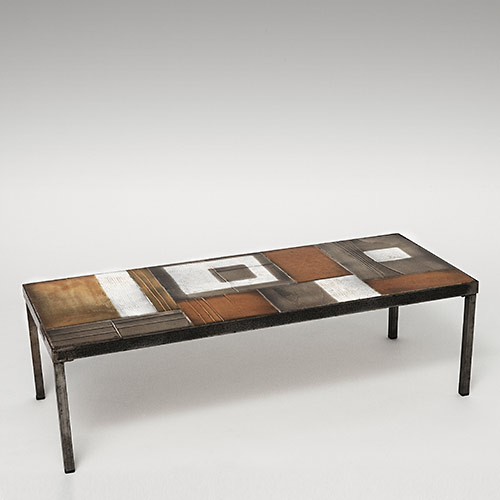 roger capron coffee table. Black Bedroom Furniture Sets. Home Design Ideas