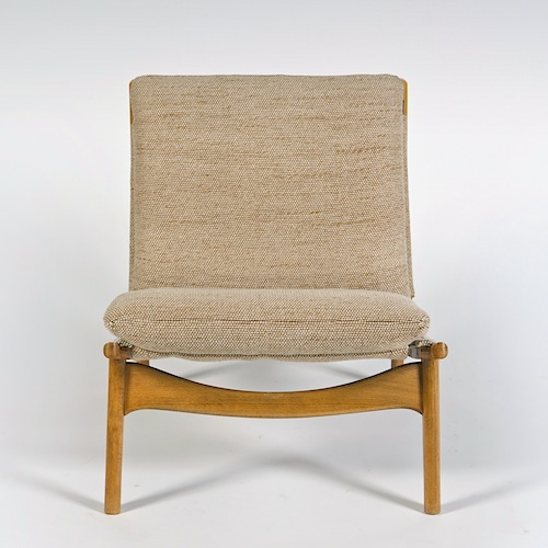 joseph andr motte pair of low seats. Black Bedroom Furniture Sets. Home Design Ideas