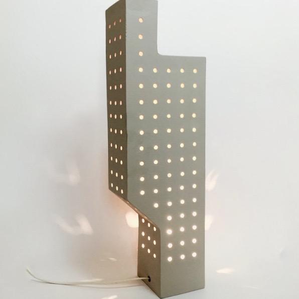 Frédéric Bourdiec - Sculpture en céramique lumineuse