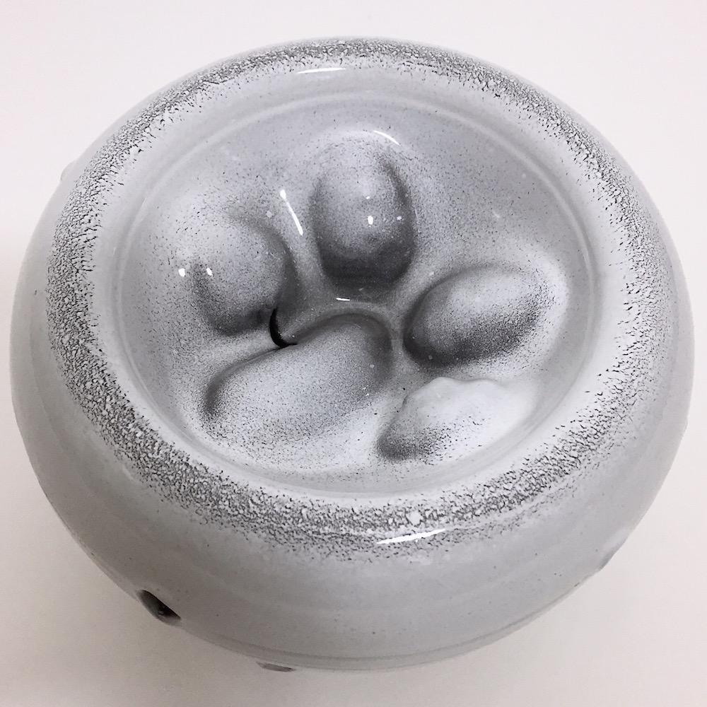 Salvatore Parisi - Ceramic Decorative Vase Glazed in White