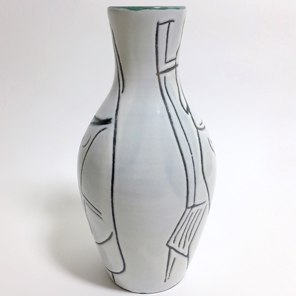 Jacques Innocenti - Ceramic Bottle Vase 1