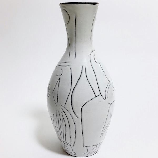 Jacques Innocenti - Ceramic Bottle Vase 2