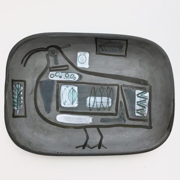 Jacques Innocenti - Ceramic Rectangular Bowl