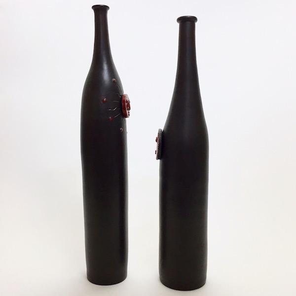 DaLo - Paire de bouteilles en céramique