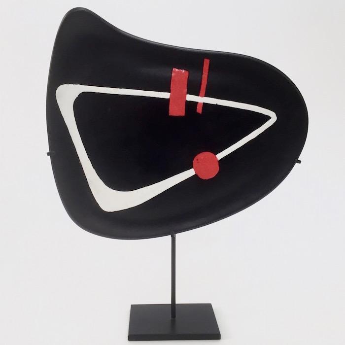Peter Orlando - Ceramic Dish on Metal Base