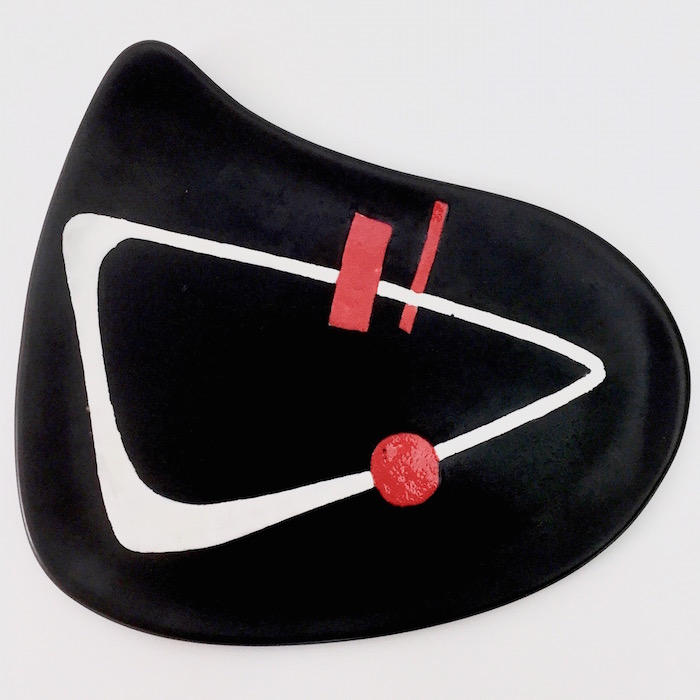 Peter Orlando - Ceramic Dish on Metal Base