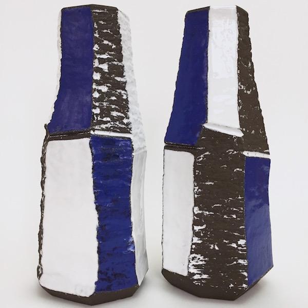 Salvatore Parisi - Ceramic Faceted Lamp Bases