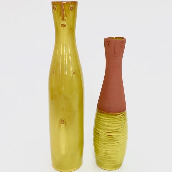 DaLo - Paire de vases bouteilles