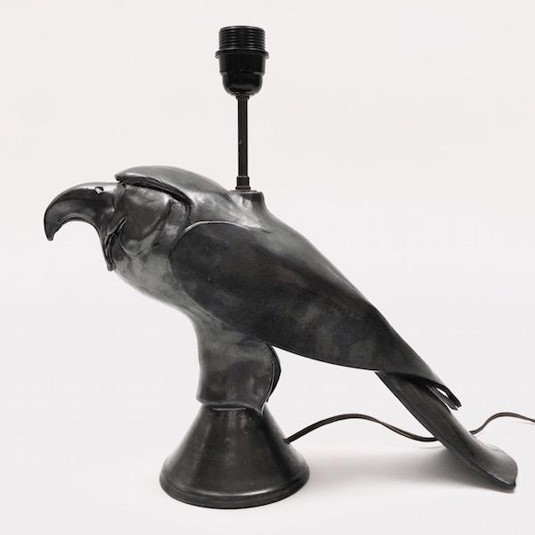 Ceramic Bird Lamp Base