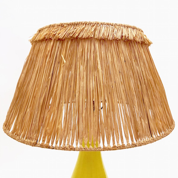 DaLo - Ceramic Lamp Base Yellow