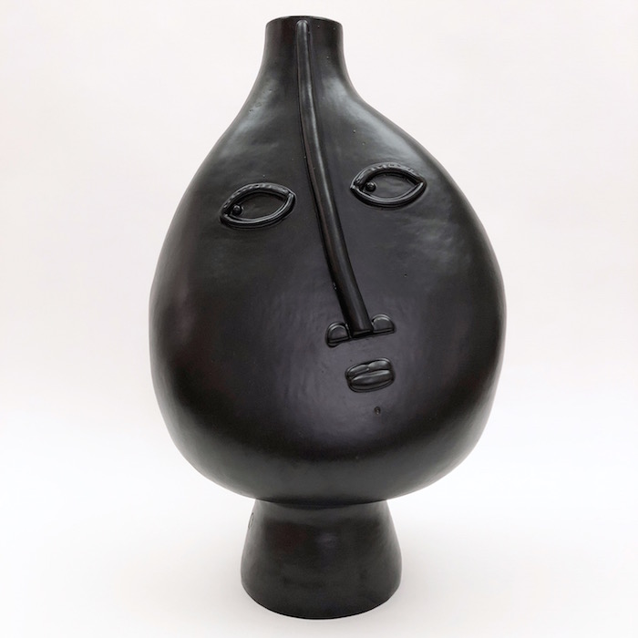 DaLo - Grand pied de lampe noir et blanc