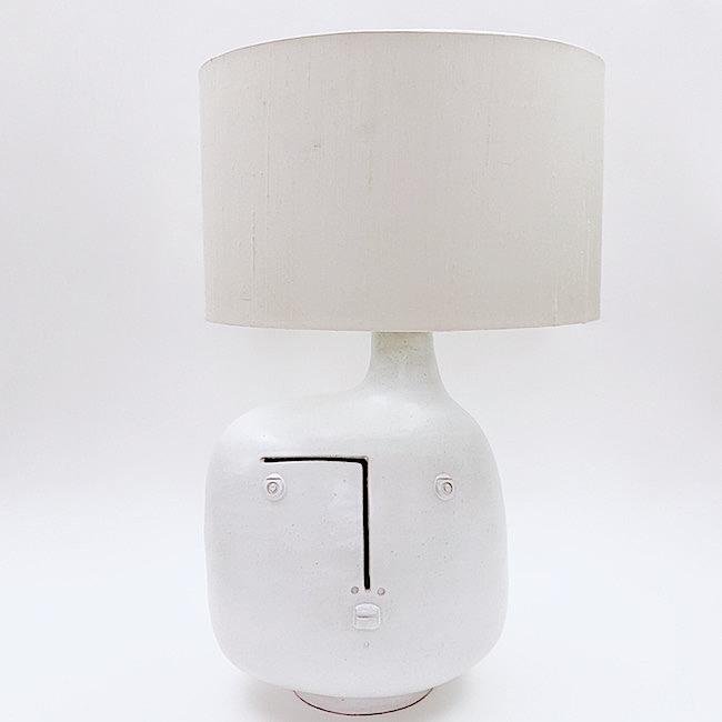 Dalo white ceramic table lamp base aloadofball Images