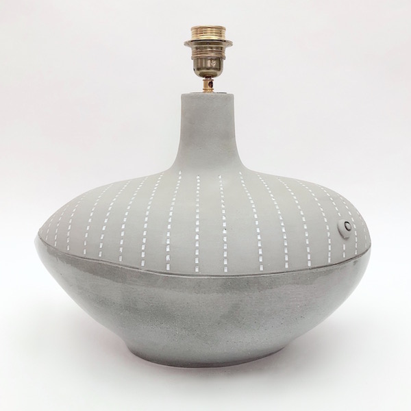 DaLo - Ceramic Lamp Base, Fish Shaped