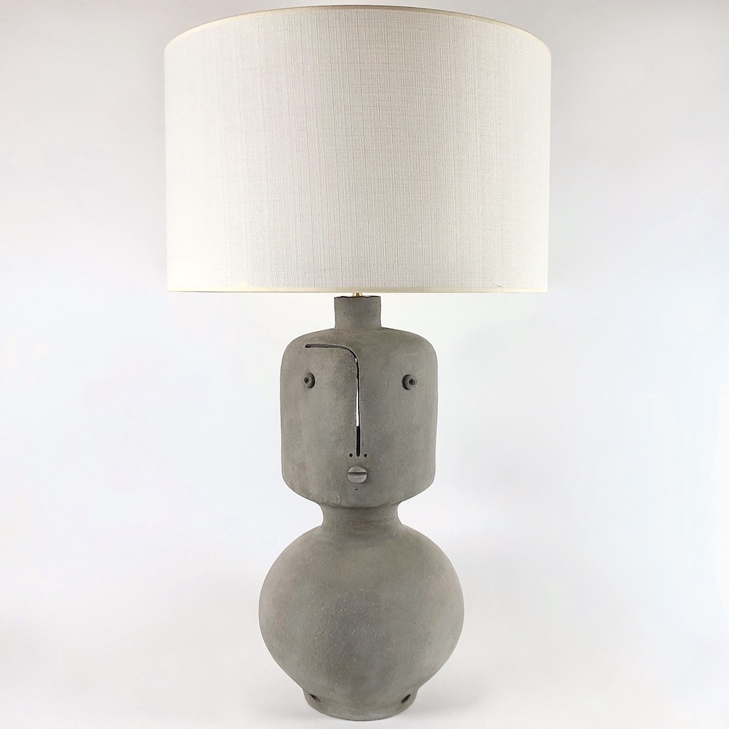 DaLo - Grand pied de lampe, double faces