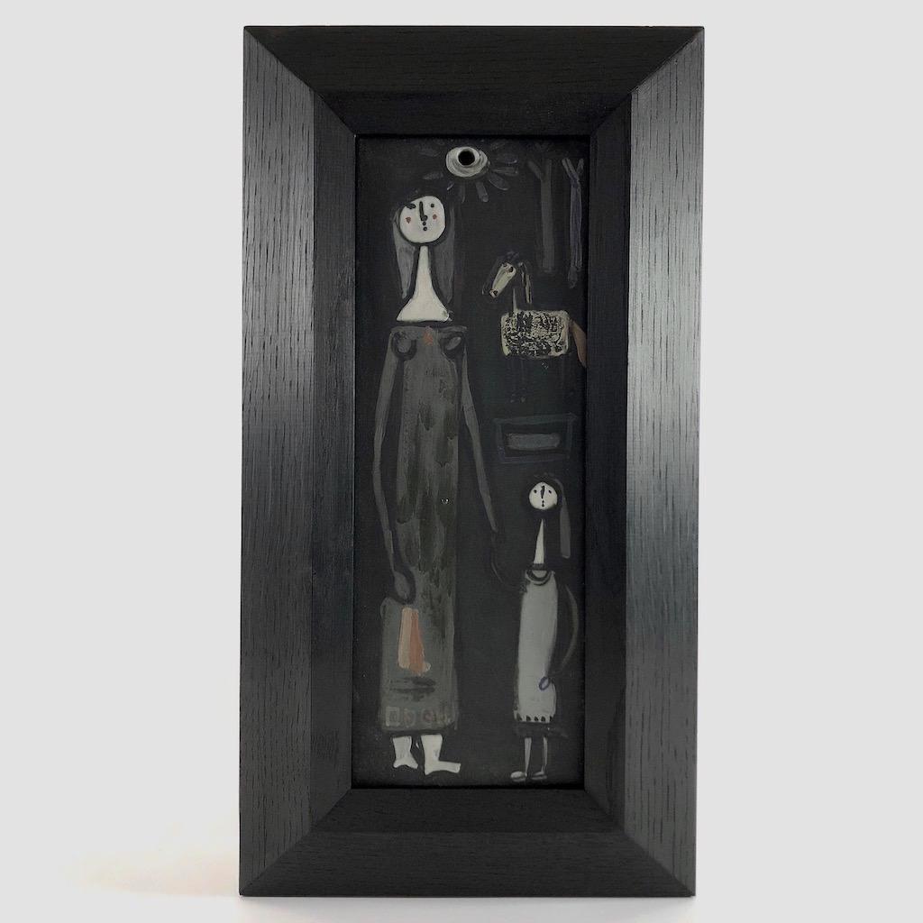 Jacques Innocenti - Plaque murale rectangulaire