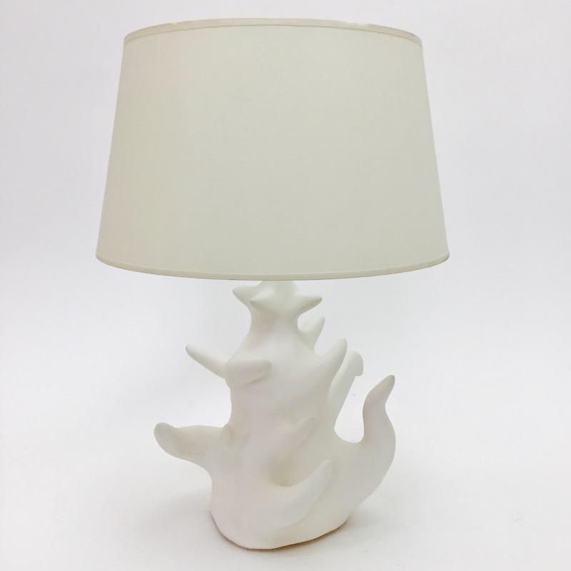 Nicolas Ramuz - Pied de lampe de forme organique
