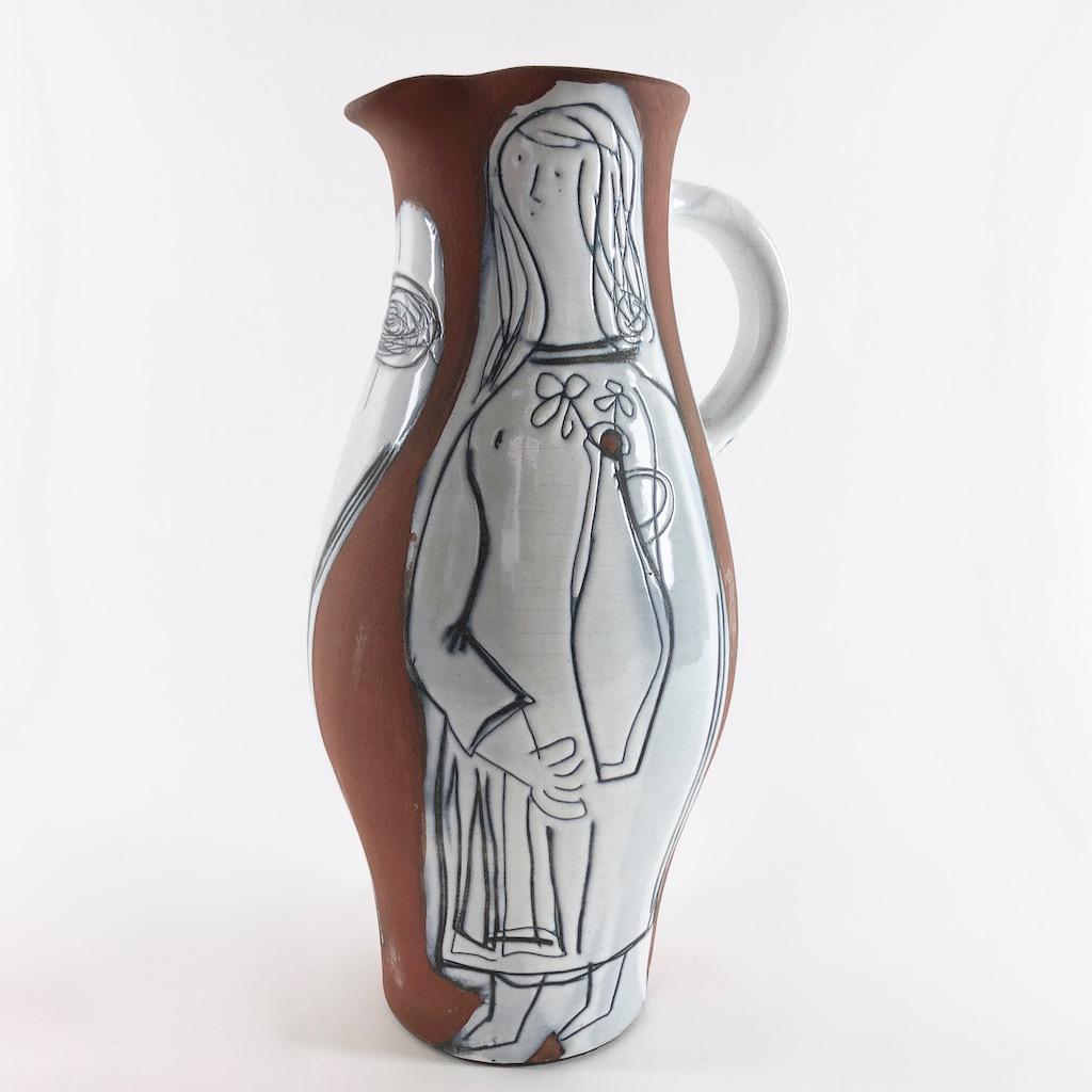 Jacques Innocenti - Important Vase Pitcher