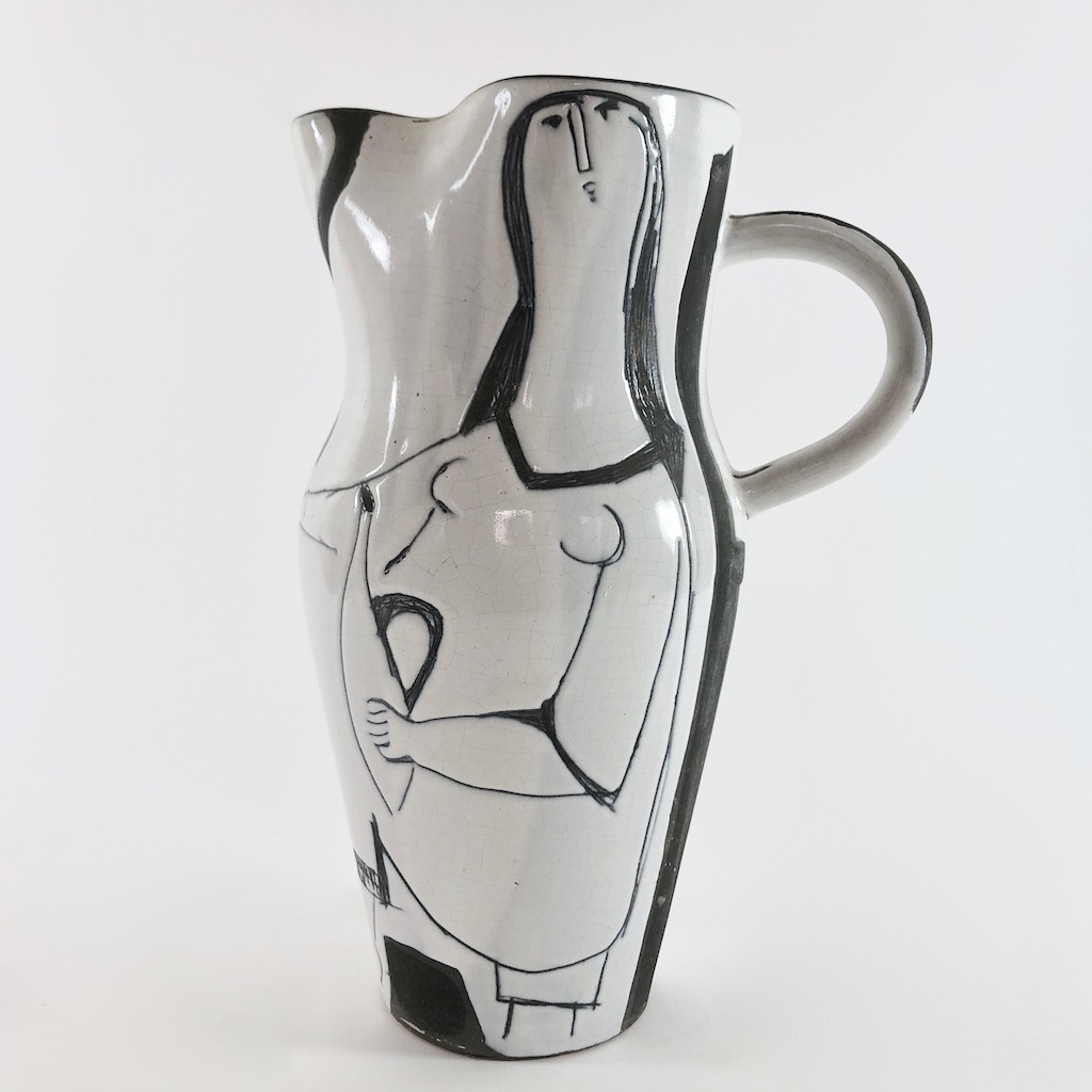 Jacques Innocenti - Large Baluster Pitcher