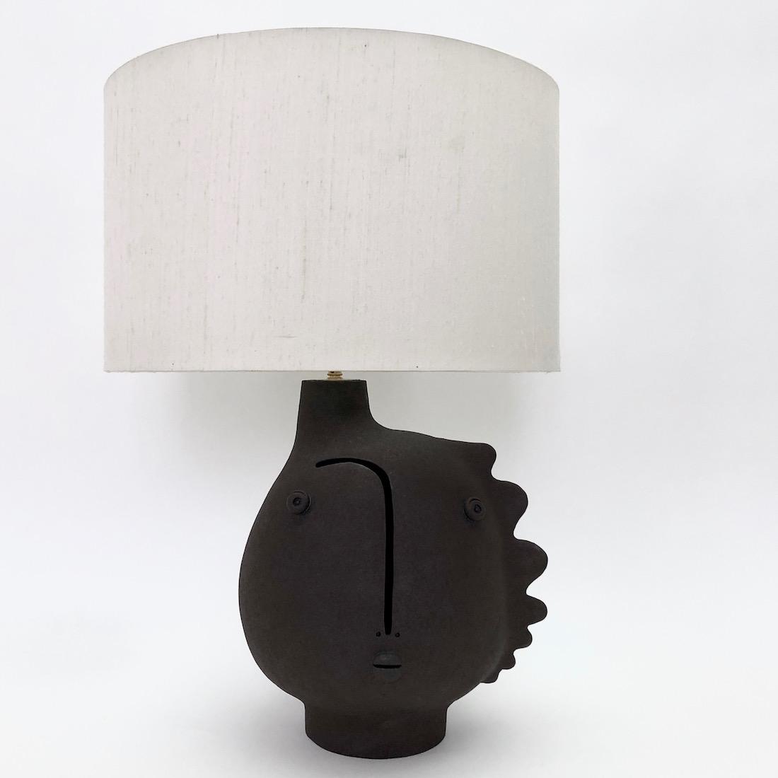 DaLo - Pied de lampe à col décentré