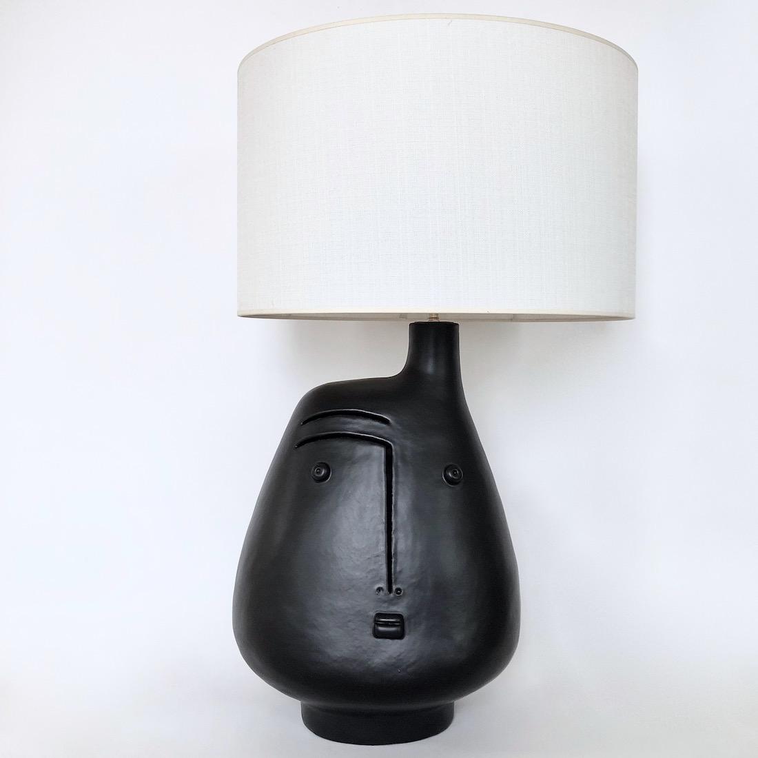 DaLo - Grand pied de lampe noir mat