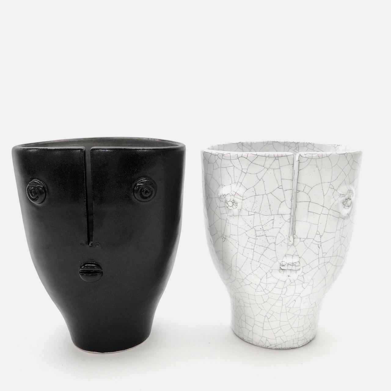 DaLo - Paire de petits vases Idoles
