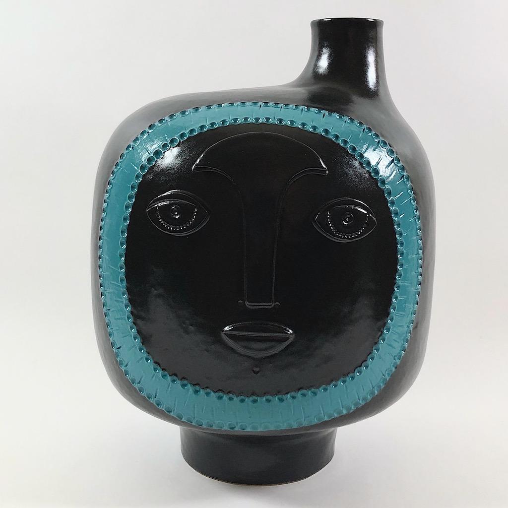 DaLo - Pied de lampe noir et turquoise