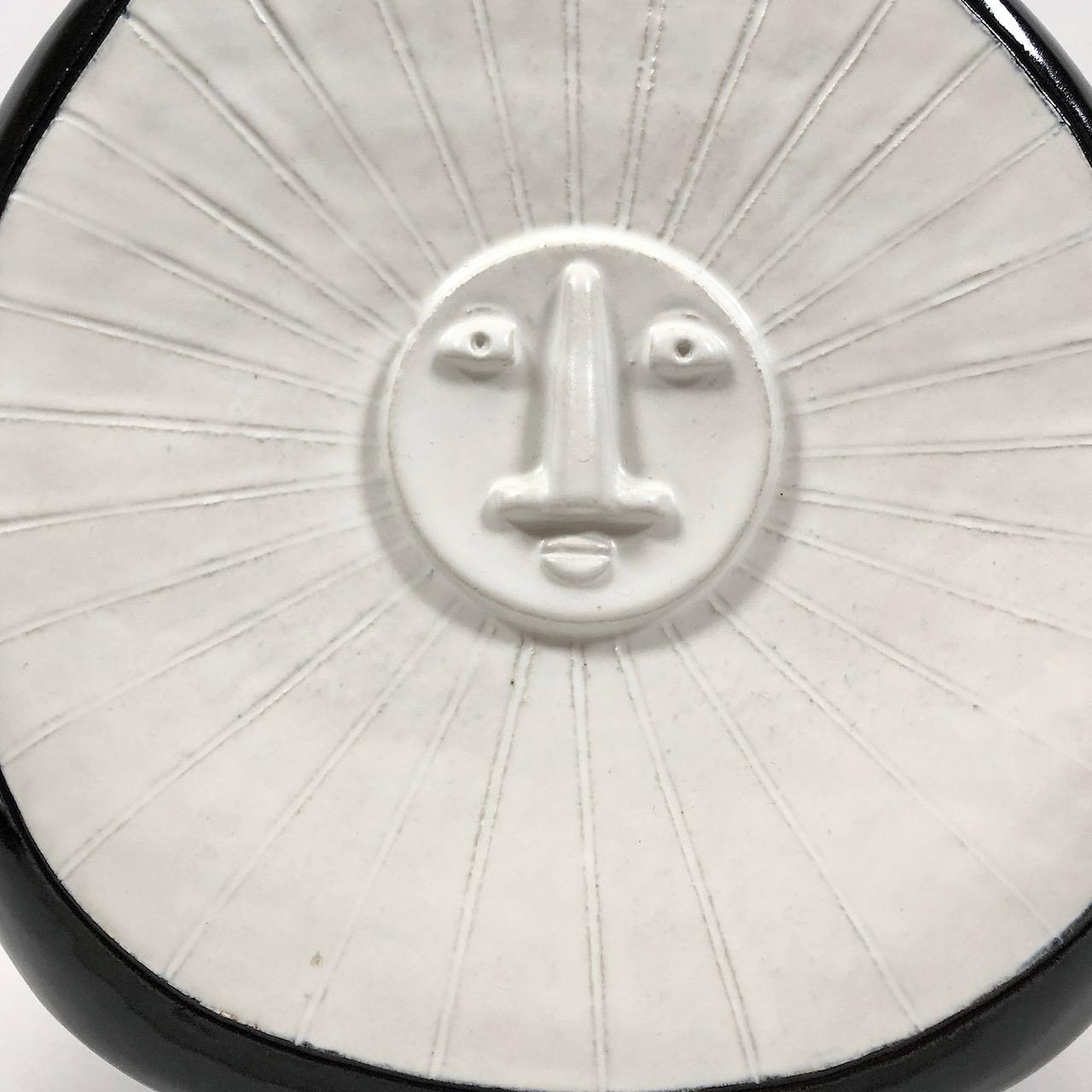 DaLo - Black and White Ceramic Table Lamp Base