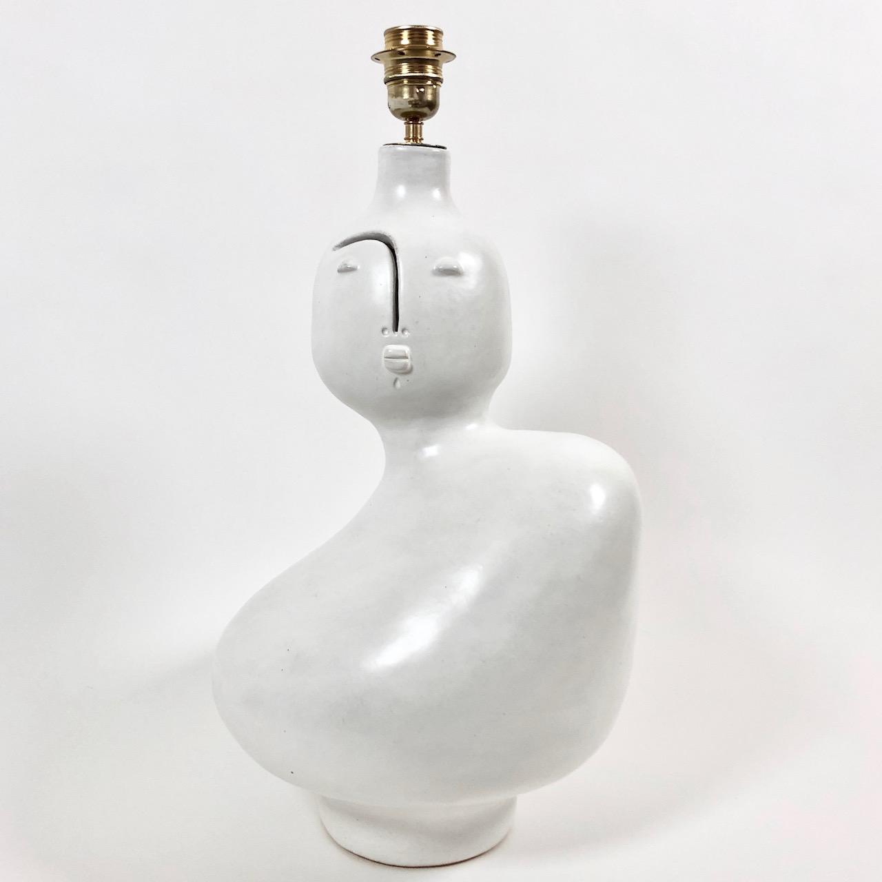 DaLo - Grand pied de lampe blanc