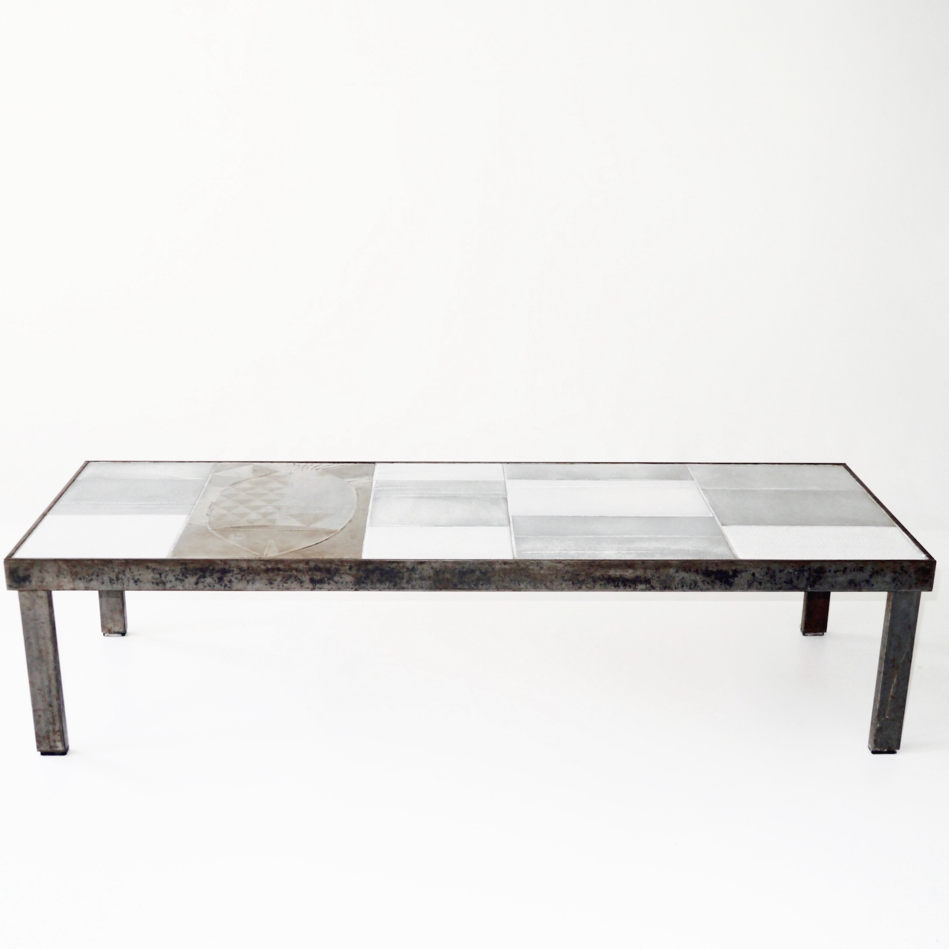 Roger Capron - Low Table Decorated with a Fish
