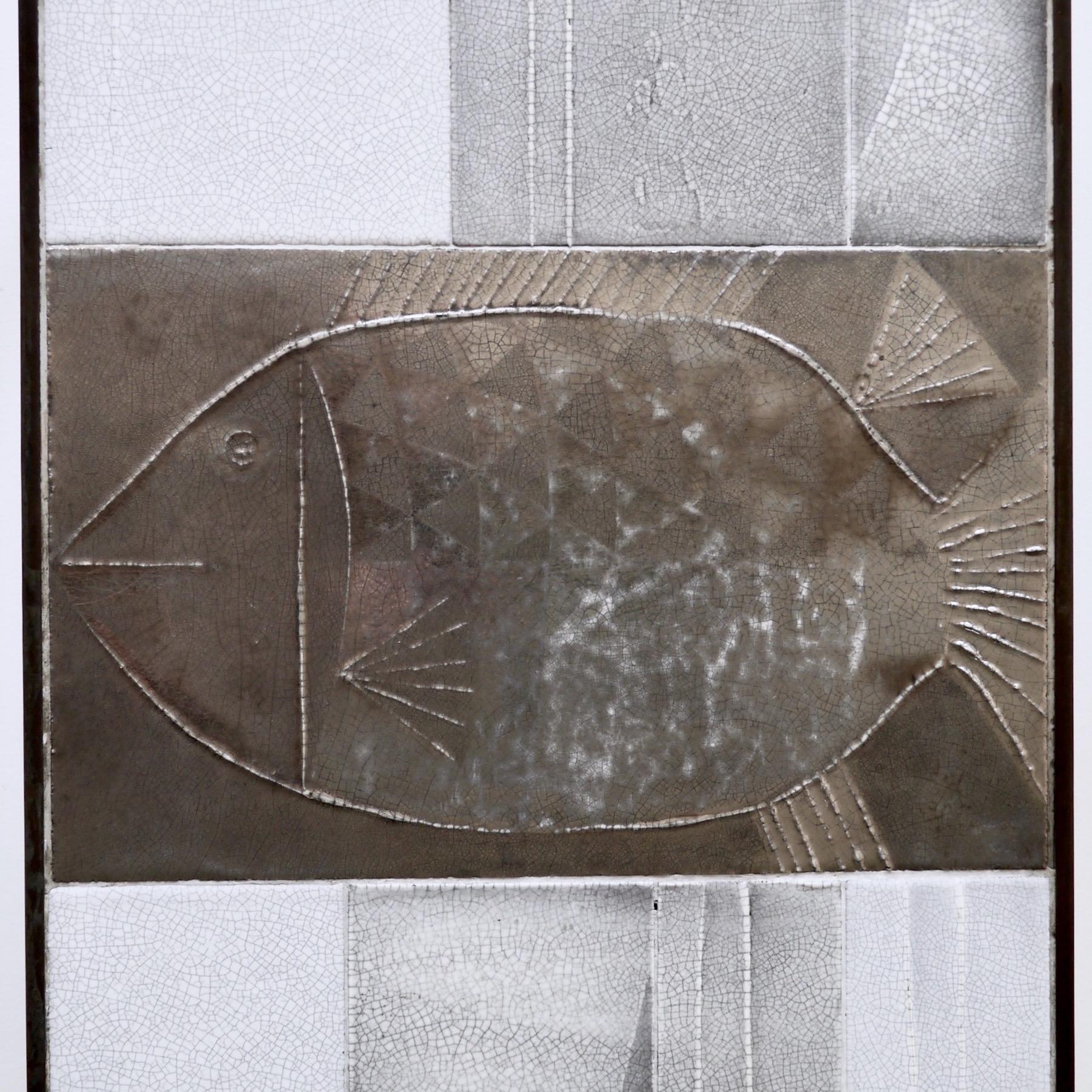 Roger Capron - Table basse au poisson