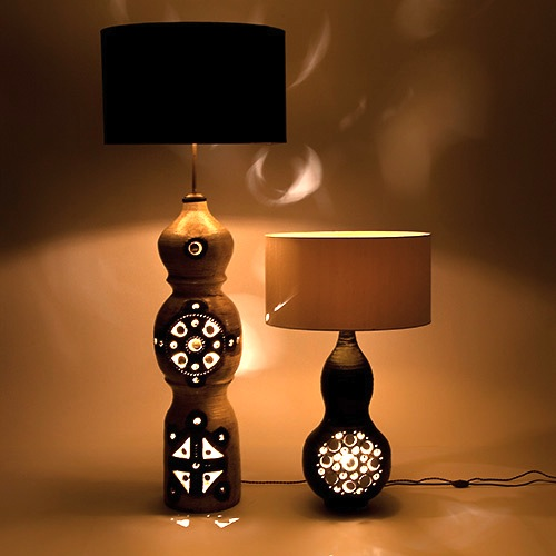 georges pelletier lampe de sol vendue. Black Bedroom Furniture Sets. Home Design Ideas