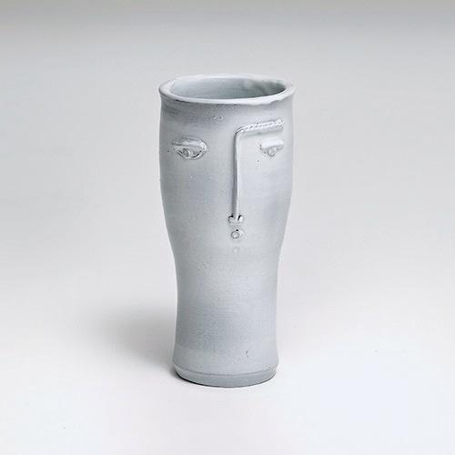 R.J Cloutier - Vase visage