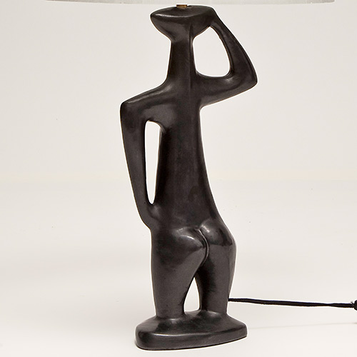 Pied de lampe anthropomorphe / Vendu