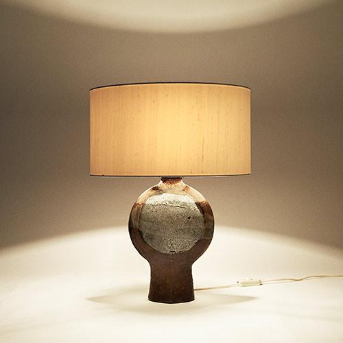 pied de lampe c ramique maill e. Black Bedroom Furniture Sets. Home Design Ideas