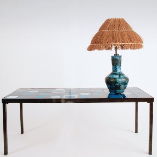 jacques blin lampe bleue. Black Bedroom Furniture Sets. Home Design Ideas