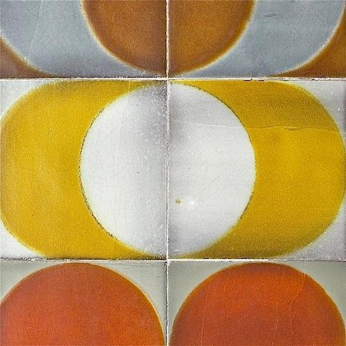 Roger Capron - Table basse aux cercles