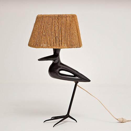 roger capron lampe oiseau. Black Bedroom Furniture Sets. Home Design Ideas