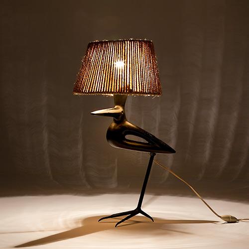 Roger Capron - Lampe oiseau