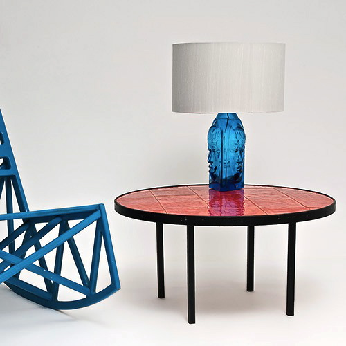 Roger Capron - Table basse circulaire