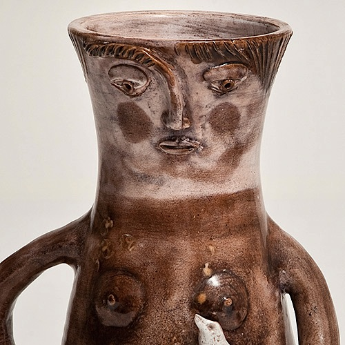 R.J Cloutier - Vase anthropomorphe
