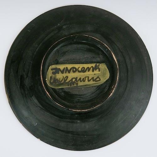 Jacques Innocenti - Large Ceramic Dish