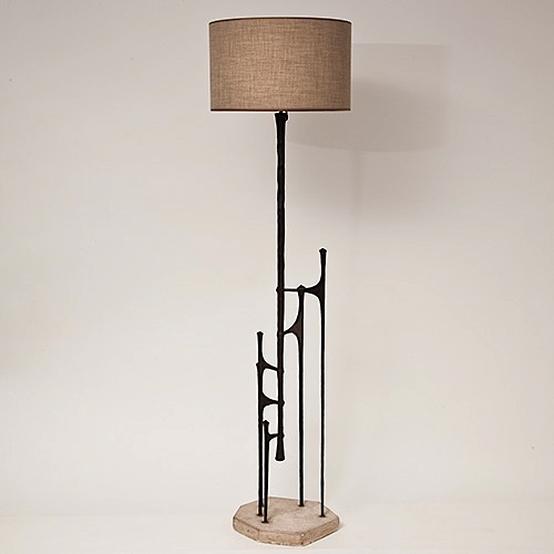 Modernist floor lamp / Sold